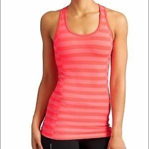 Athleta Tops - Athleta Coral Rev Up Striped Racerback Tank Top